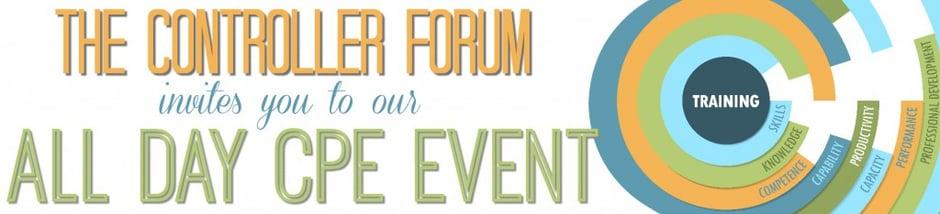 Controller Forum CPE Banner