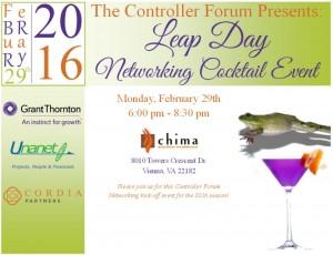 Controller Forum Leap Day Invite