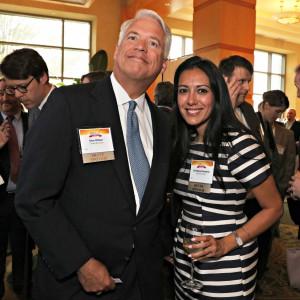 Don Olinger & Christine Pazmino at the Awards