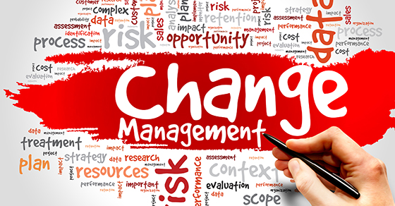 Lessons of 2020- Change management
